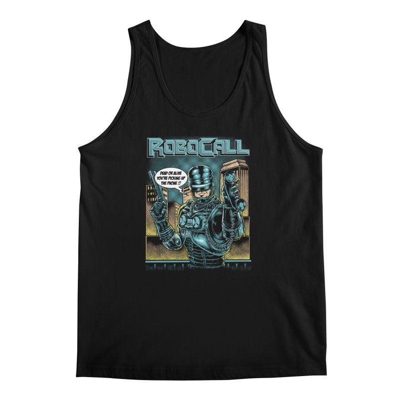 Robocall Men's Regular Tank by Made With Awesome