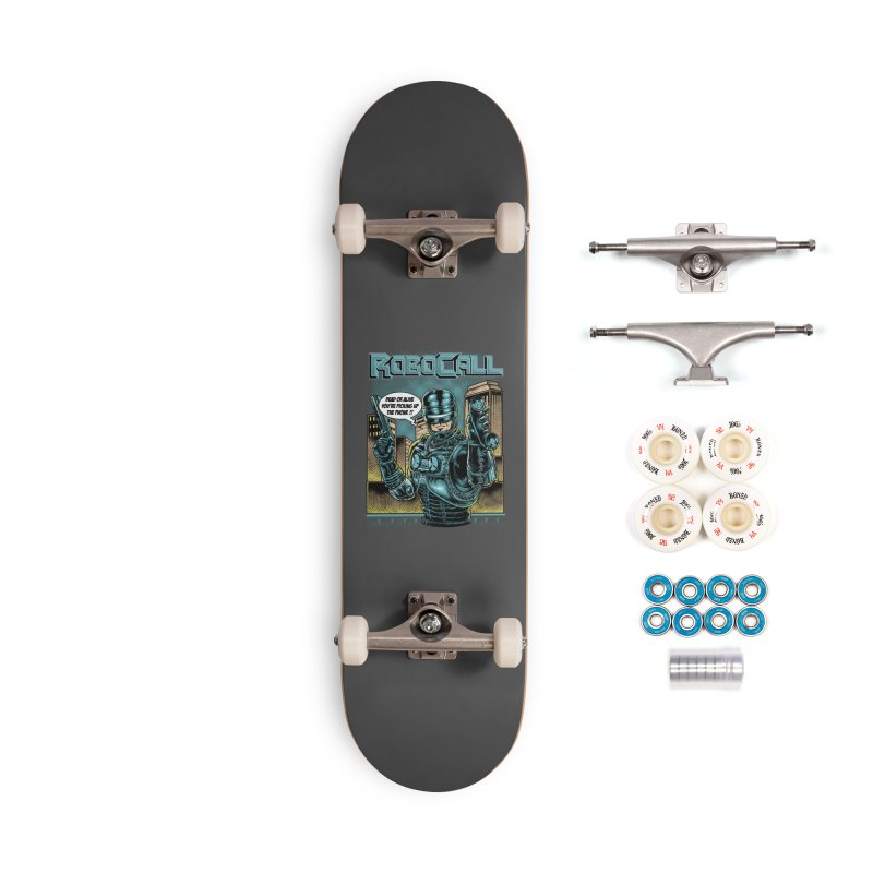 Robocall Accessories Complete - Premium Skateboard by Made With Awesome