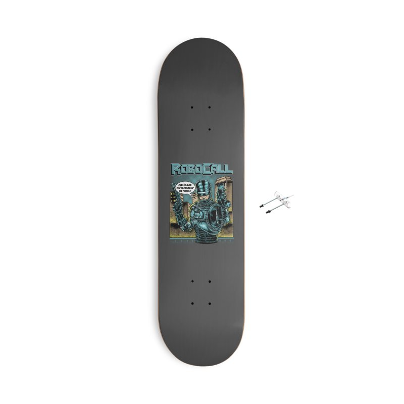 Robocall Accessories With Hanging Hardware Skateboard by Made With Awesome