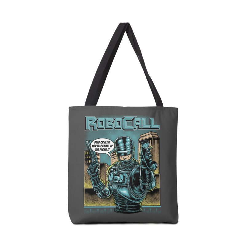Robocall Accessories Tote Bag Bag by Made With Awesome