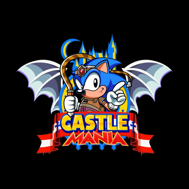 Castle Mania Men's T-Shirt by Made With Awesome