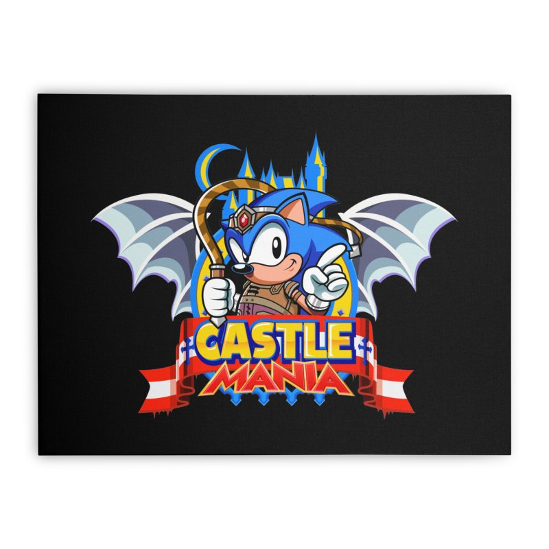 Castle Mania Home Stretched Canvas by Made With Awesome