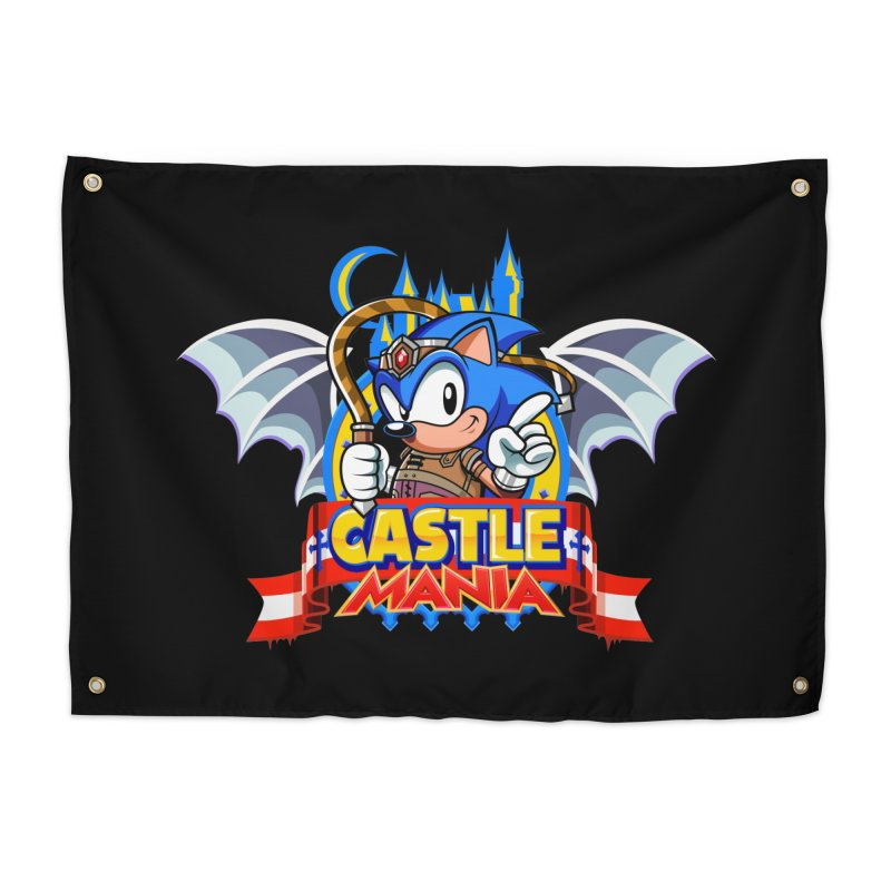 Castle Mania Home Tapestry by Made With Awesome