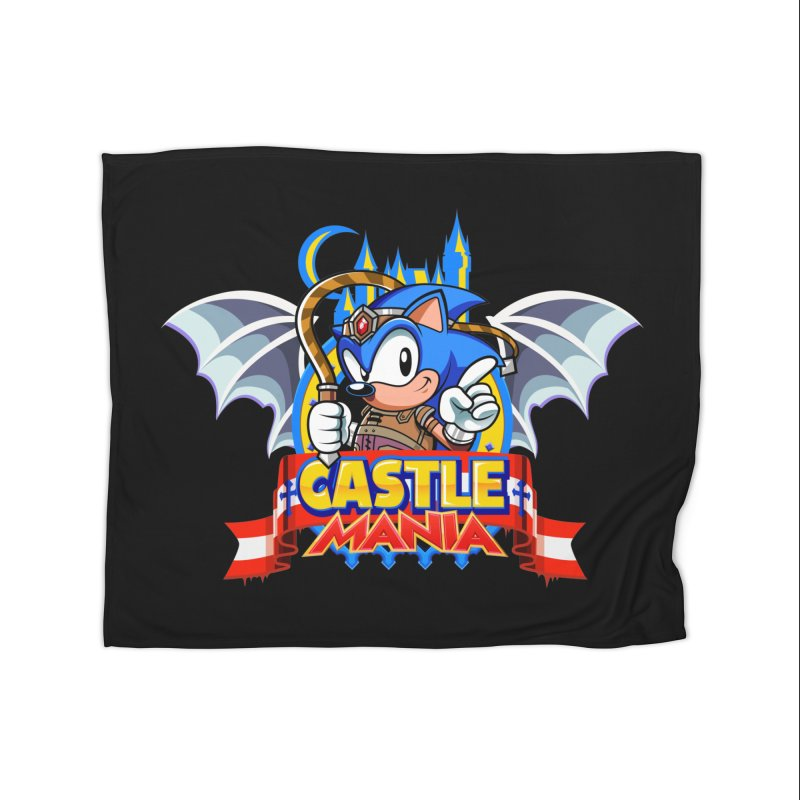 Castle Mania Home Fleece Blanket Blanket by Made With Awesome