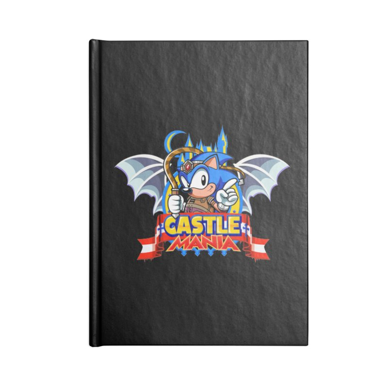 Castle Mania Accessories Lined Journal Notebook by Made With Awesome