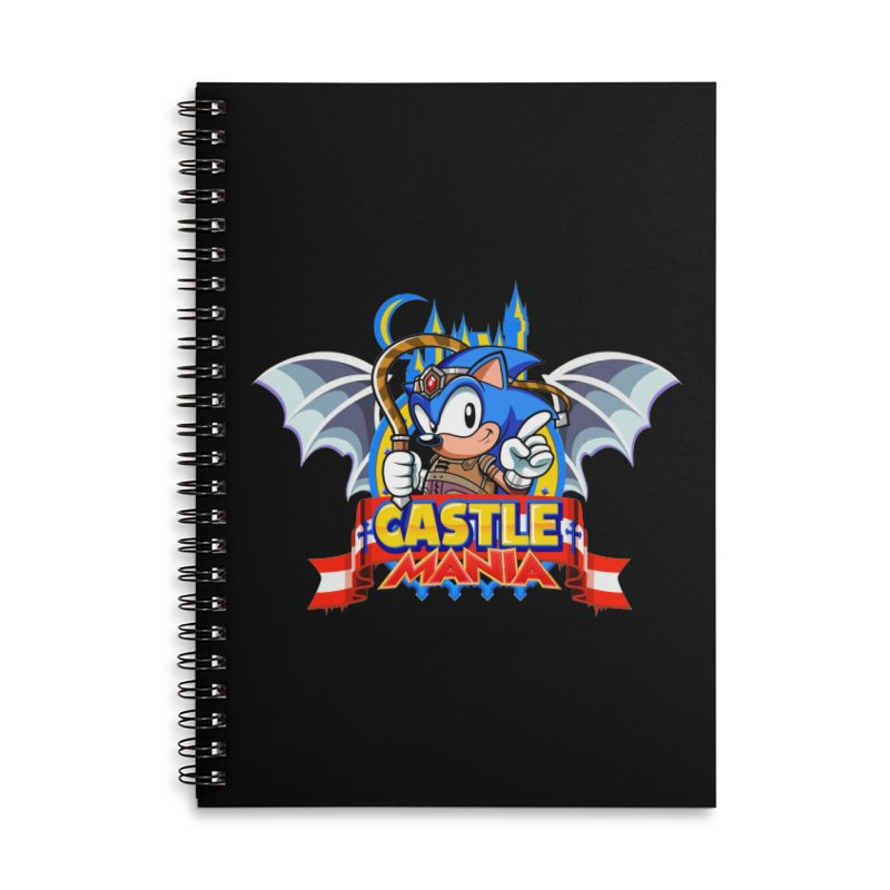 Castle Mania Accessories Lined Spiral Notebook by Made With Awesome