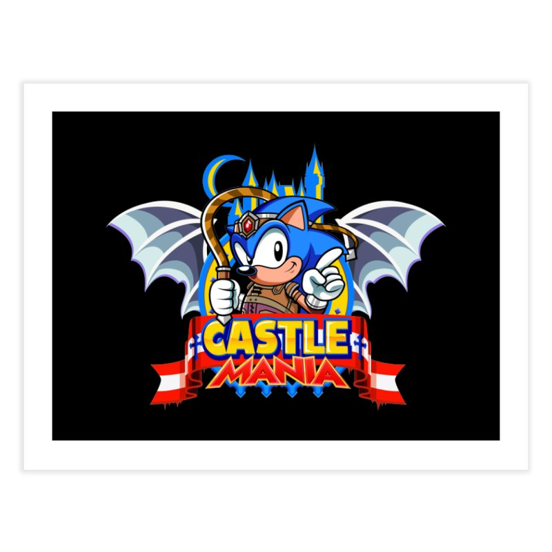 Castle Mania Home Fine Art Print by Made With Awesome