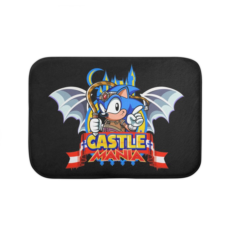 Castle Mania Home Bath Mat by Made With Awesome