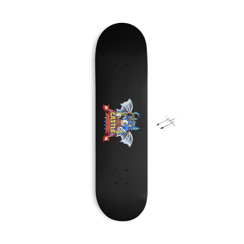 Castle Mania Accessories With Hanging Hardware Skateboard by Made With Awesome
