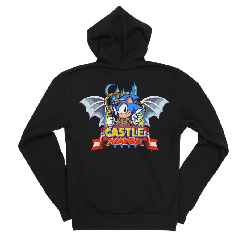 Castle Mania Men's Sponge Fleece Zip-Up Hoody by Made With Awesome