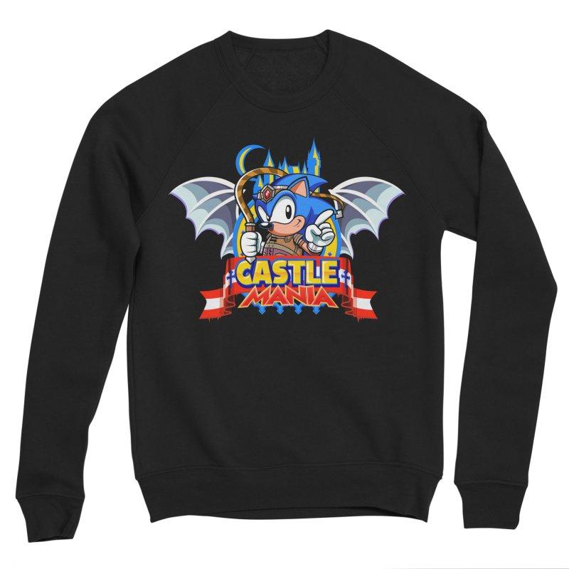 Castle Mania Men's Sponge Fleece Sweatshirt by Made With Awesome