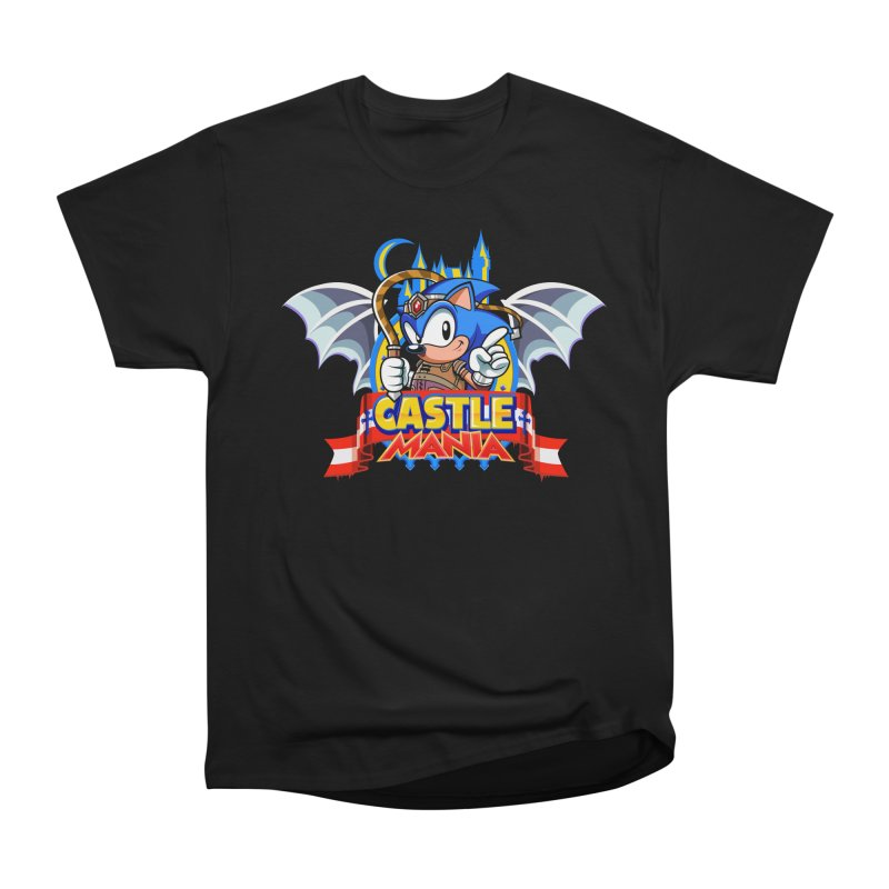 Castle Mania Men's Heavyweight T-Shirt by Made With Awesome