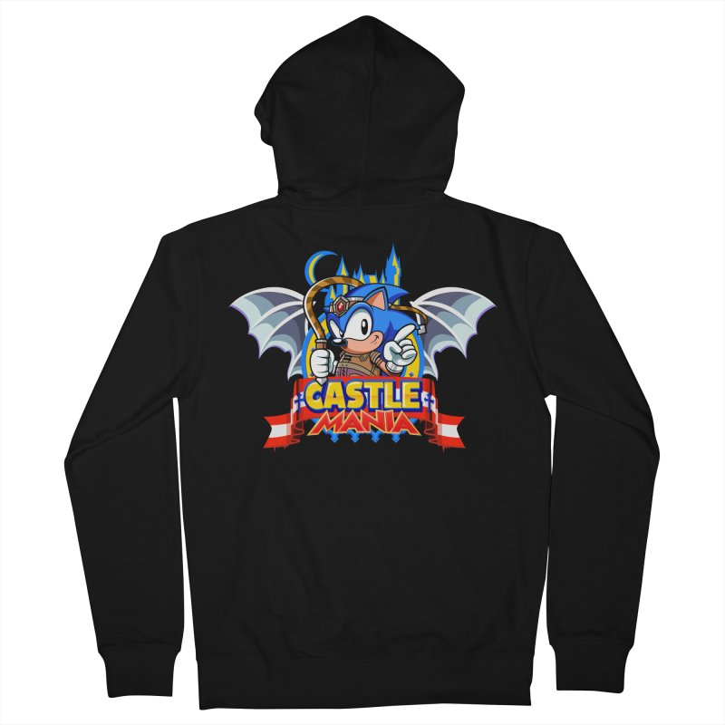 Castle Mania Men's French Terry Zip-Up Hoody by Made With Awesome