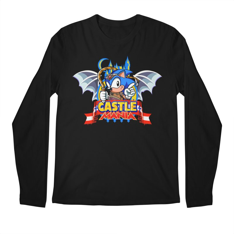 Castle Mania Men's Regular Longsleeve T-Shirt by Made With Awesome