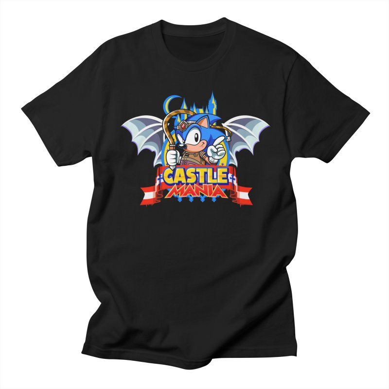 Castle Mania Men's Regular T-Shirt by Made With Awesome