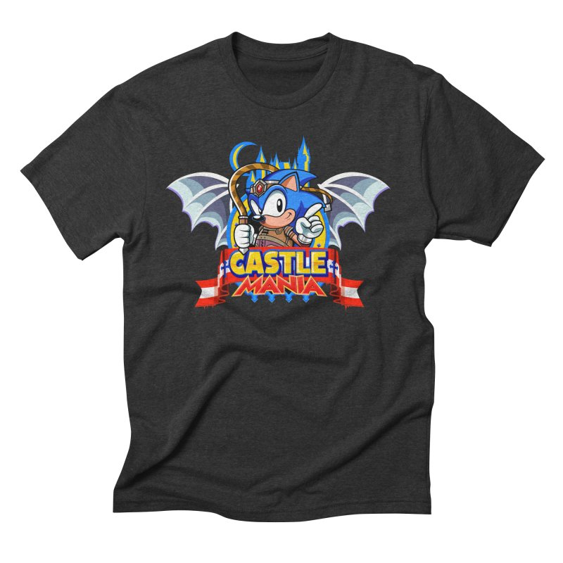 Castle Mania Men's Triblend T-Shirt by Made With Awesome