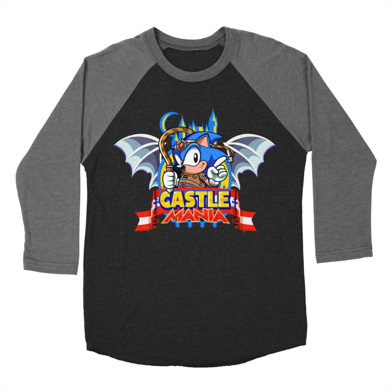 Castle Mania Men's Baseball Triblend Longsleeve T-Shirt by Made With Awesome