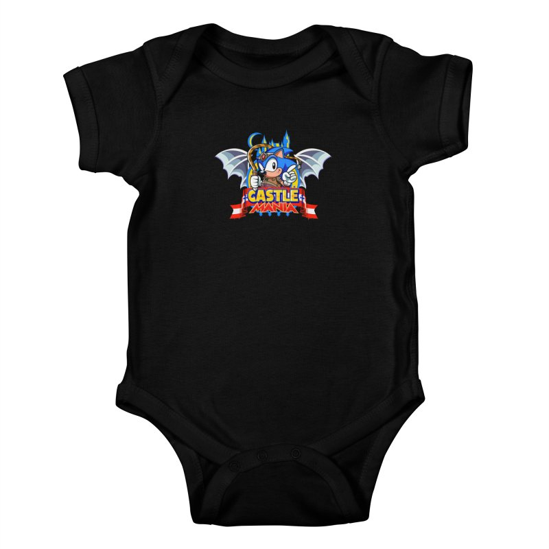 Castle Mania Kids Baby Bodysuit by Made With Awesome