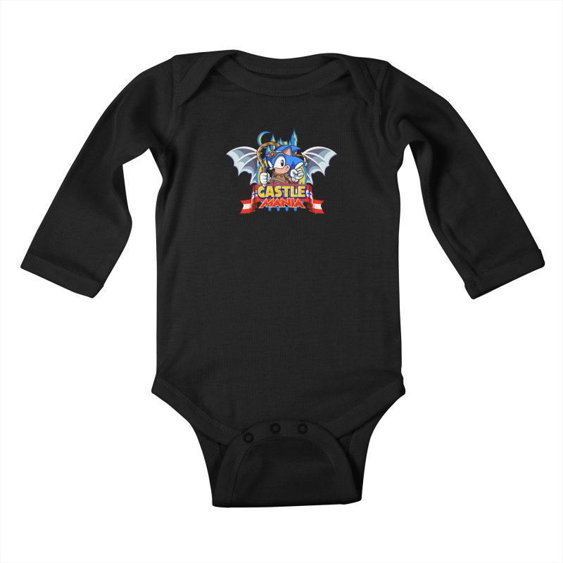Castle Mania Kids Baby Longsleeve Bodysuit by Made With Awesome