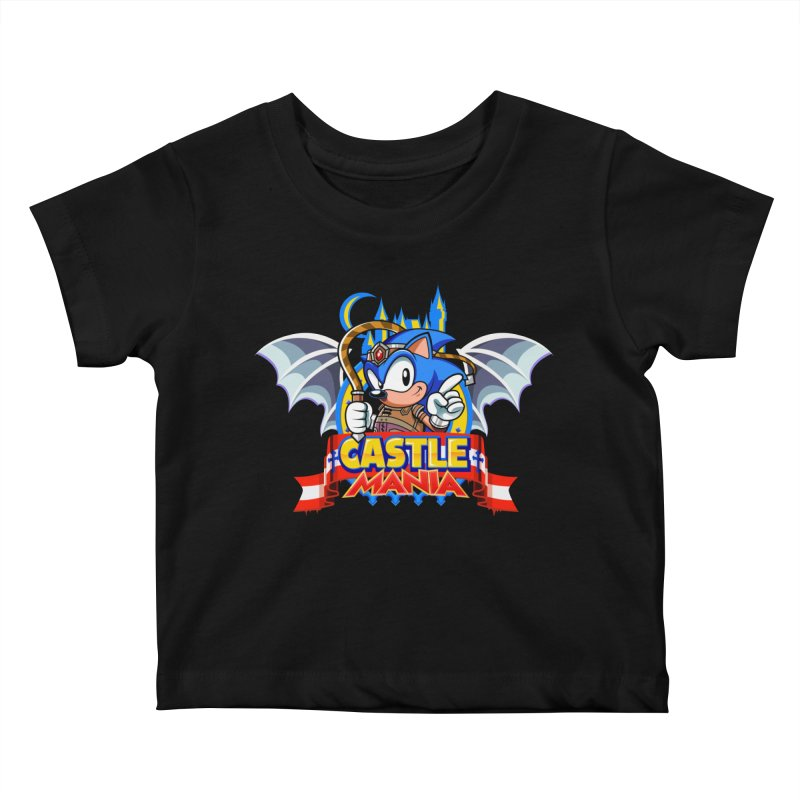 Castle Mania Kids Baby T-Shirt by Made With Awesome