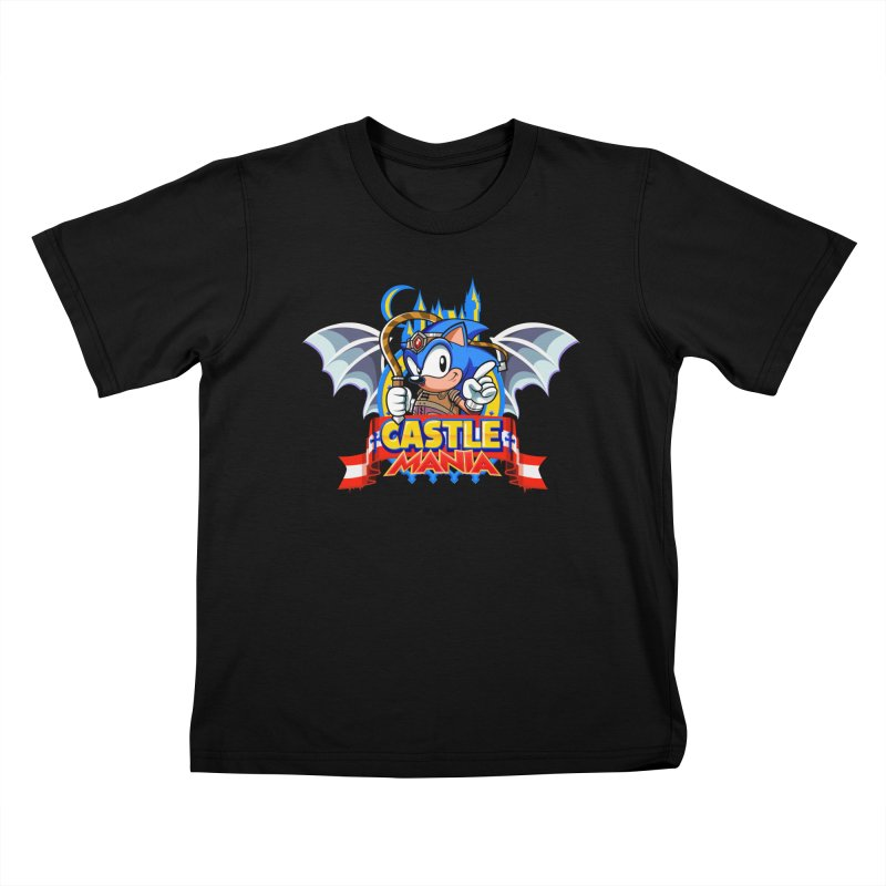Castle Mania Kids T-Shirt by Made With Awesome