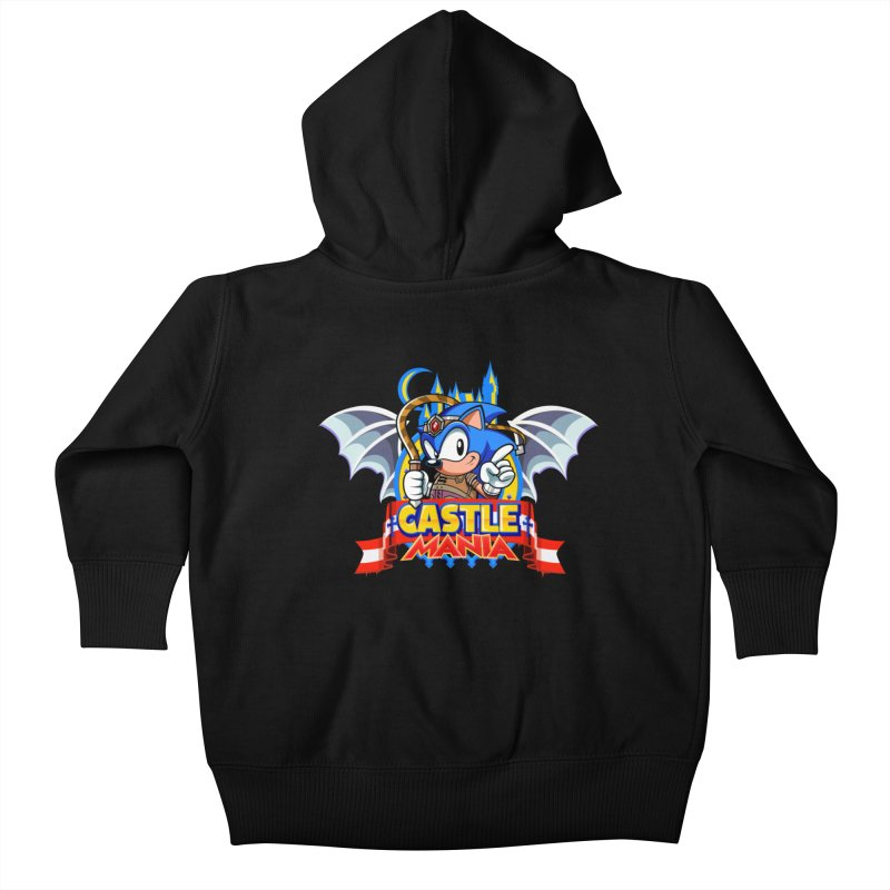 Castle Mania Kids Baby Zip-Up Hoody by Made With Awesome