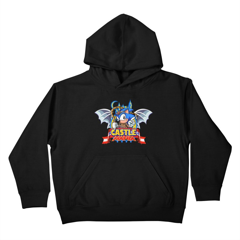 Castle Mania Kids Pullover Hoody by Made With Awesome