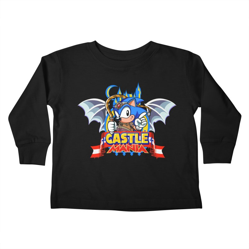 Castle Mania Kids Toddler Longsleeve T-Shirt by Made With Awesome