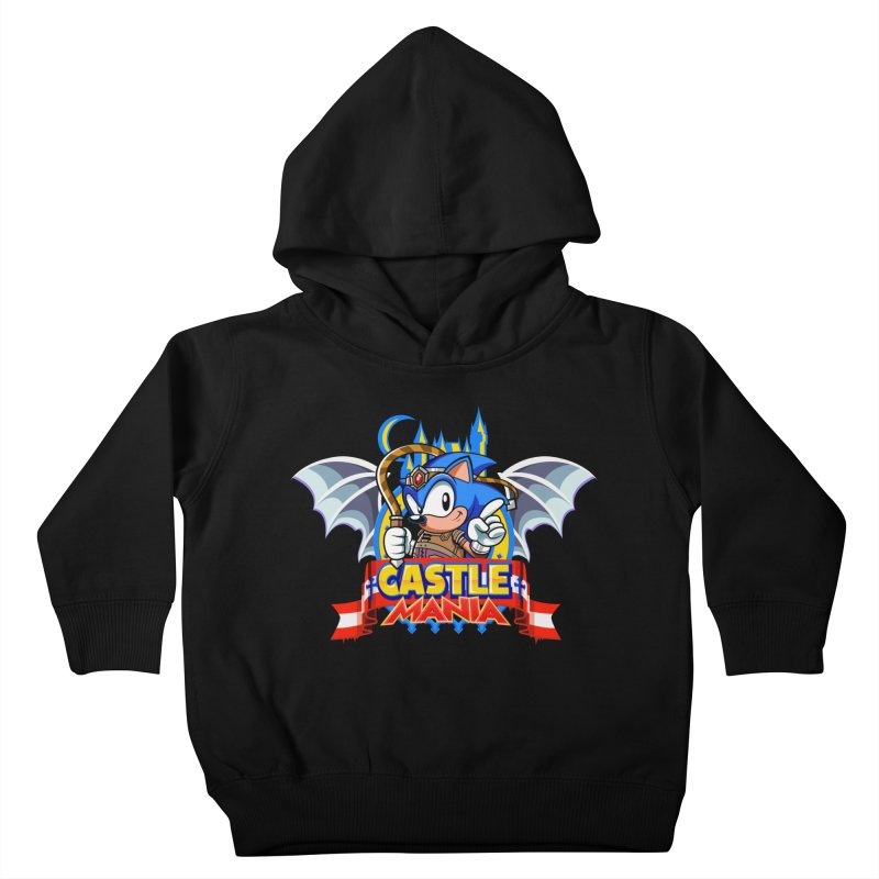 Castle Mania Kids Toddler Pullover Hoody by Made With Awesome