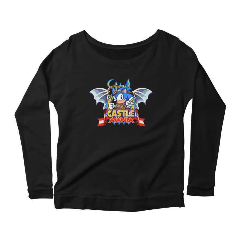 Castle Mania Women's Scoop Neck Longsleeve T-Shirt by Made With Awesome
