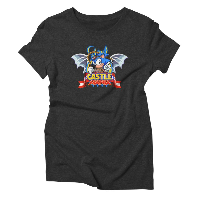 Castle Mania Women's Triblend T-Shirt by Made With Awesome