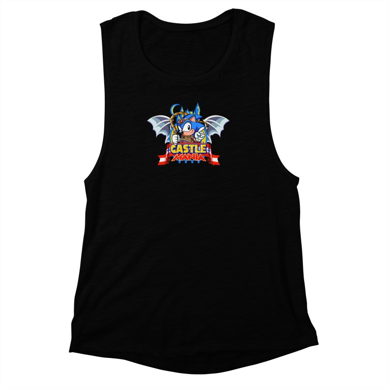 Castle Mania Women's Muscle Tank by Made With Awesome