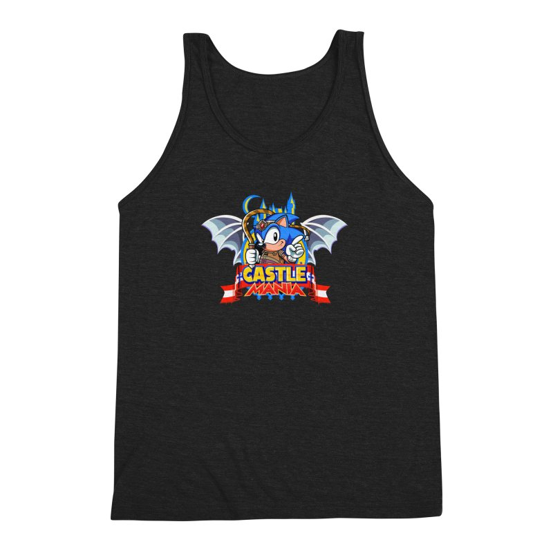 Castle Mania Men's Triblend Tank by Made With Awesome
