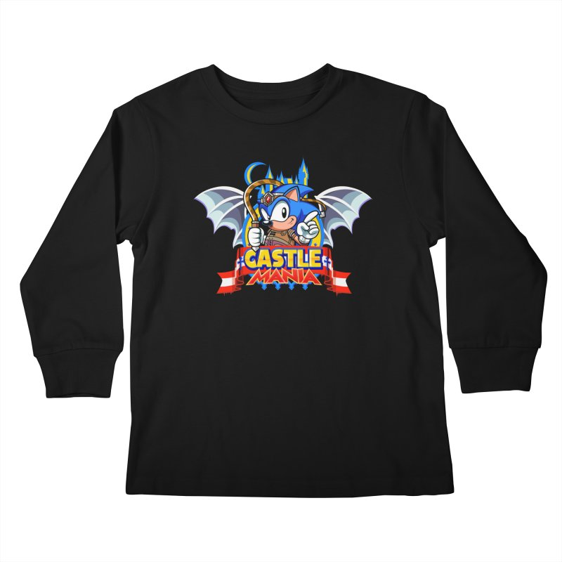 Castle Mania Kids Longsleeve T-Shirt by Made With Awesome