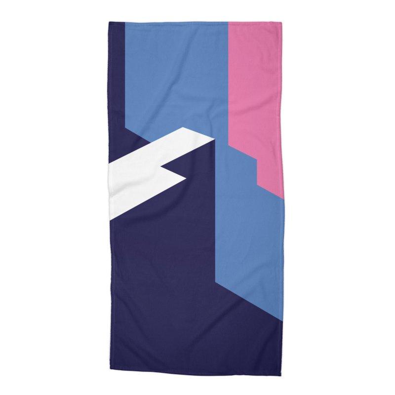 Graphic Architecture #1 Accessories Beach Towel by Madeleine Hettich Design & Illustration