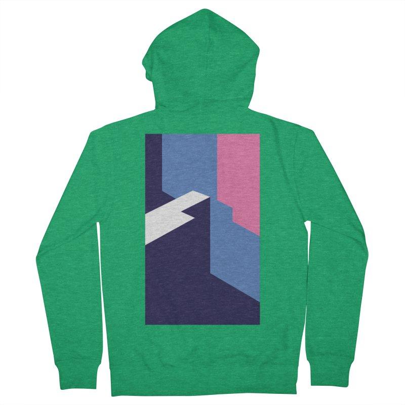 Graphic Architecture #1 Men's Zip-Up Hoody by Madeleine Hettich Design & Illustration