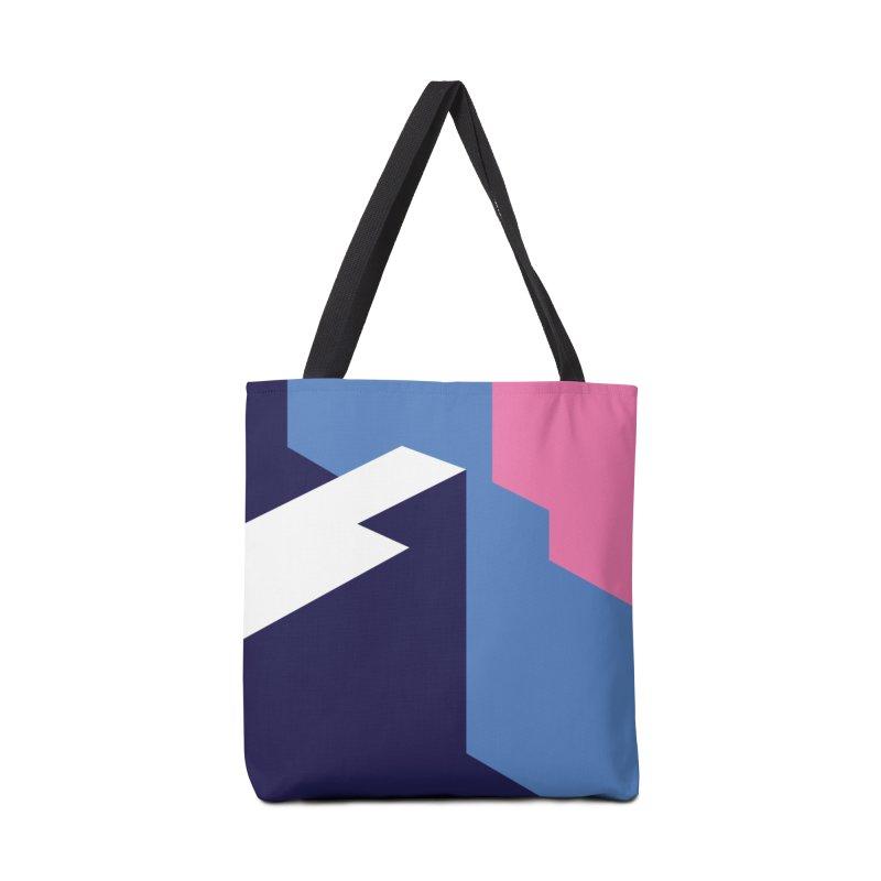 Graphic Architecture #1 Accessories Bag by Madeleine Hettich Design & Illustration