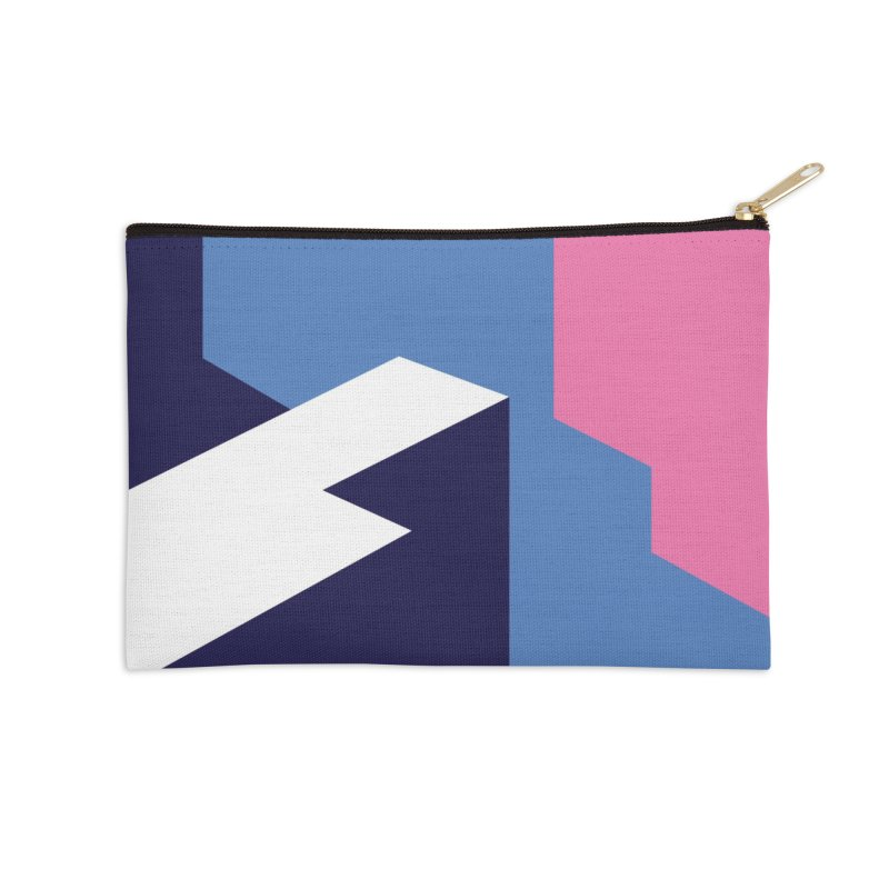Graphic Architecture #1 Accessories Zip Pouch by Madeleine Hettich Design & Illustration