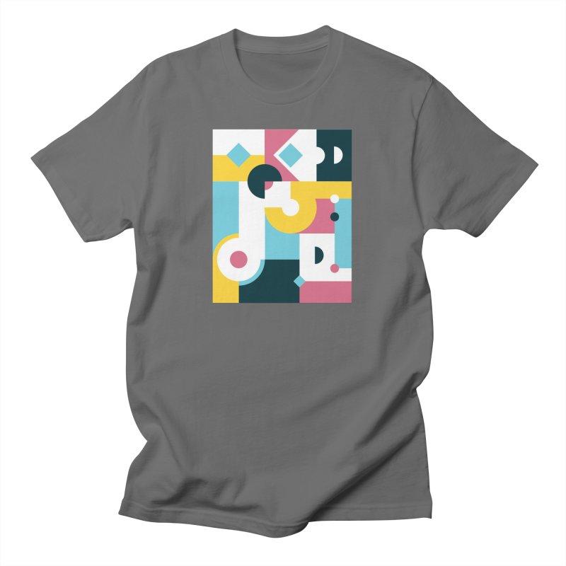 Geometric Design Series 2, Poster 2 Men's T-Shirt by Madeleine Hettich Design & Illustration