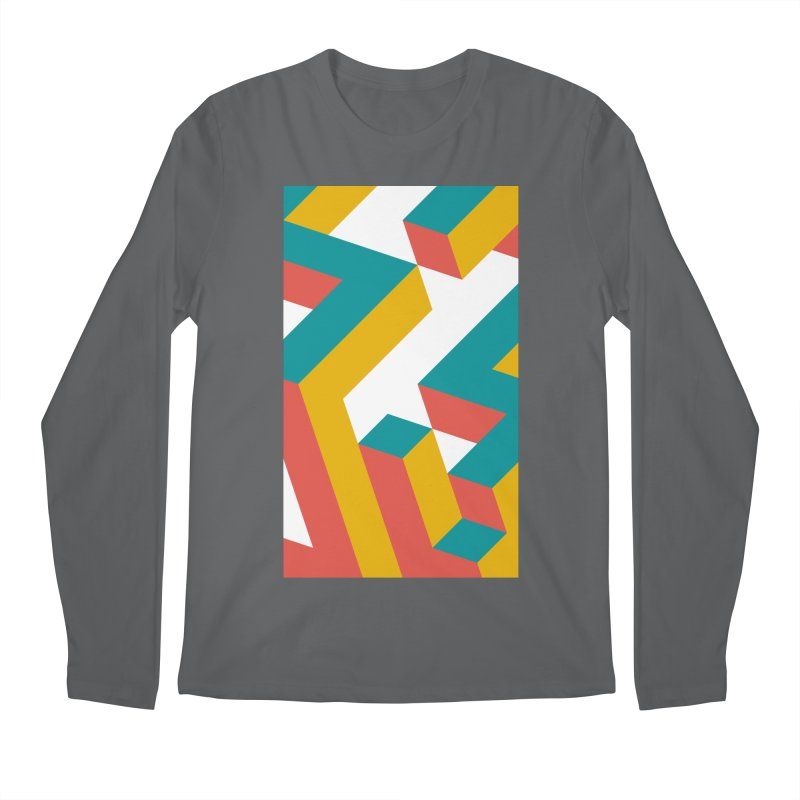 Geometric Design Series 1, Poster 2 Men's Longsleeve T-Shirt by Madeleine Hettich Design & Illustration