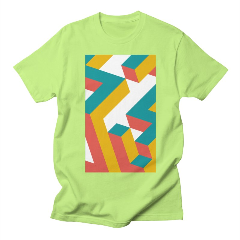 Geometric Design Series 1, Poster 2 Men's T-Shirt by Madeleine Hettich Design & Illustration