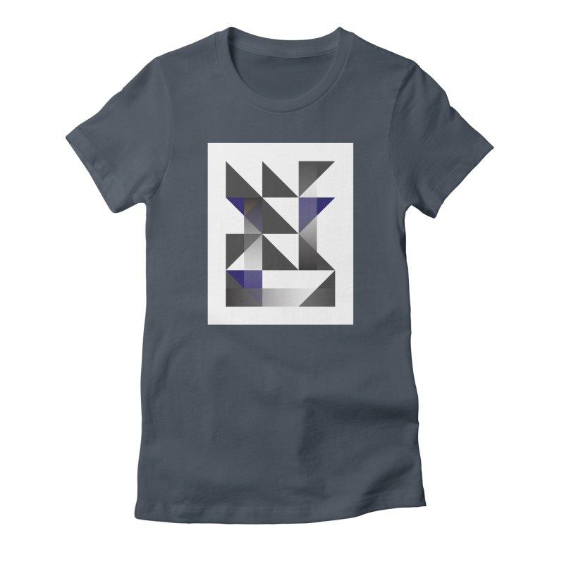 Geometric Design Series 1.5, Poster 11 Women's T-Shirt by Madeleine Hettich Design & Illustration