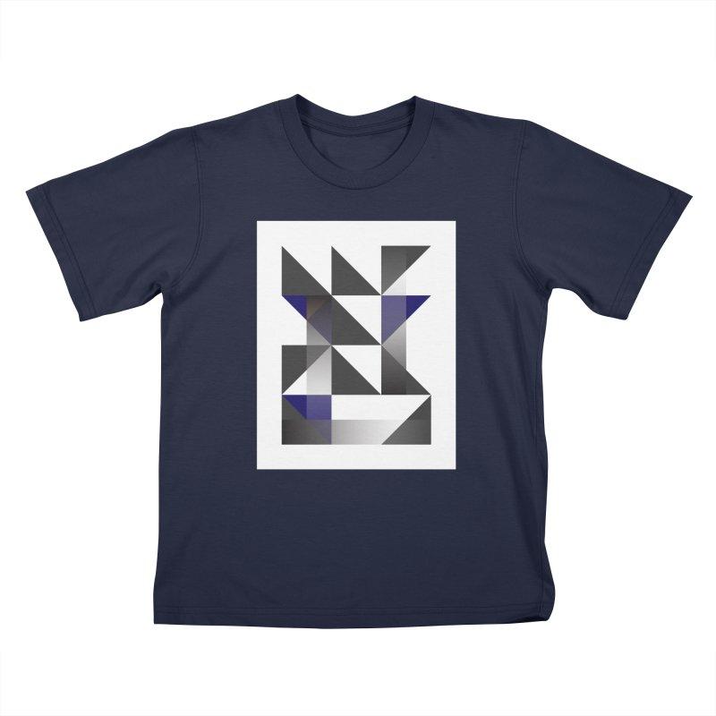 Geometric Design Series 1.5, Poster 11 Kids T-Shirt by Madeleine Hettich Design & Illustration