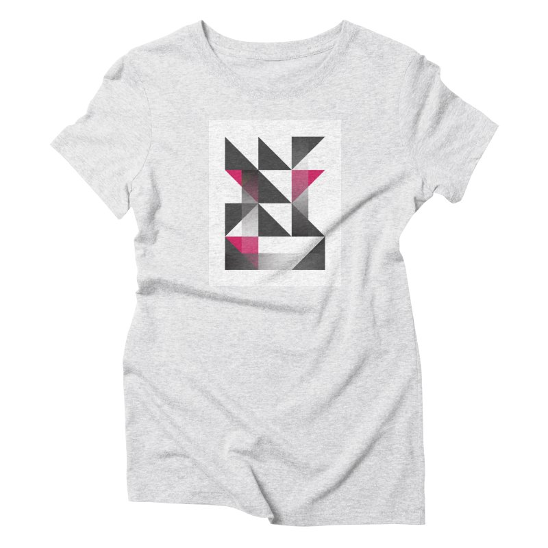 Geometric Design Series 1.5, Poster 10 Women's T-Shirt by Madeleine Hettich Design & Illustration
