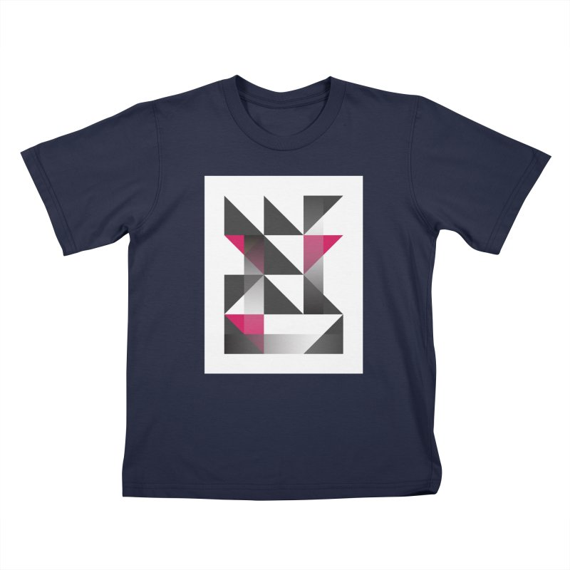 Geometric Design Series 1.5, Poster 10 Kids T-Shirt by Madeleine Hettich Design & Illustration