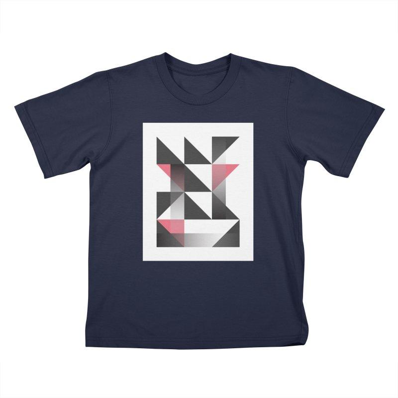 Geometric Design Series 1.5, Poster 8 Kids T-Shirt by Madeleine Hettich Design & Illustration