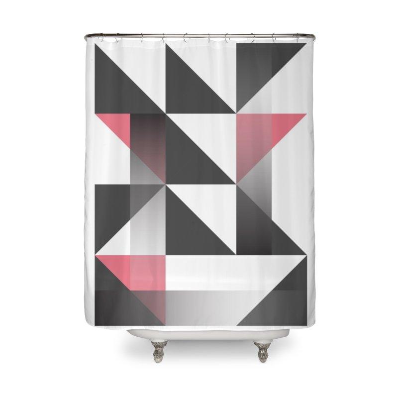 Geometric Design Series 1.5, Poster 8 Home Shower Curtain by Madeleine Hettich Design & Illustration