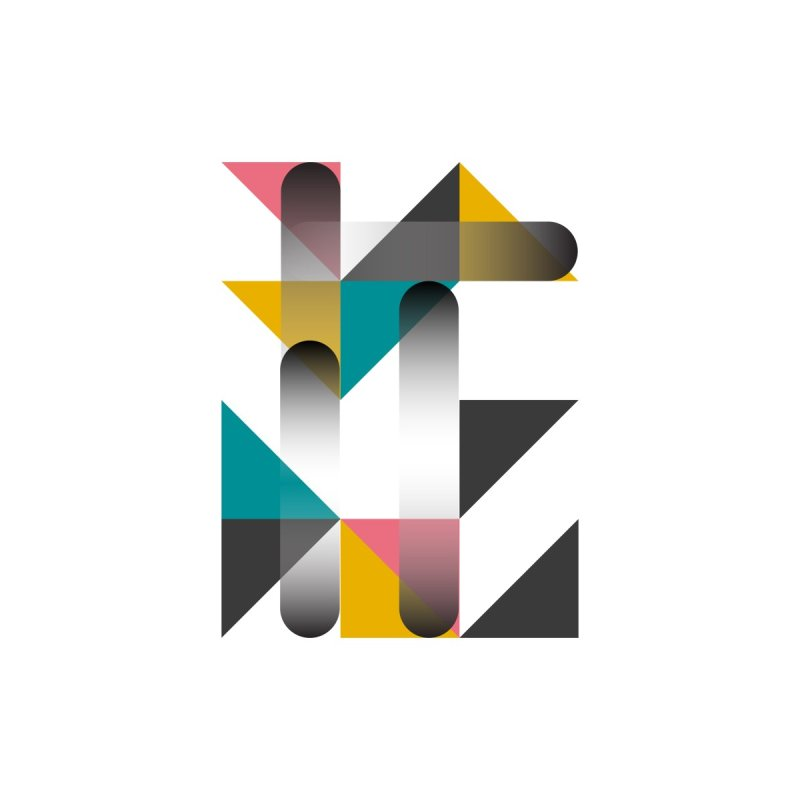 Geometric Design Series 1.5, Poster 7 Men's T-Shirt by Madeleine Hettich Design & Illustration