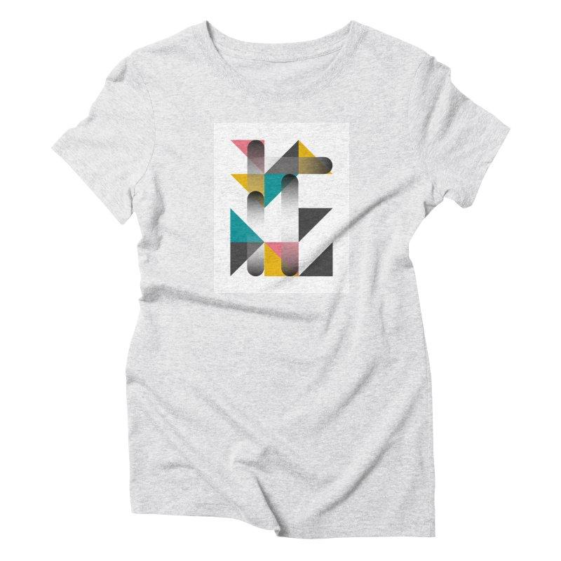 Geometric Design Series 1.5, Poster 7 Women's T-Shirt by Madeleine Hettich Design & Illustration