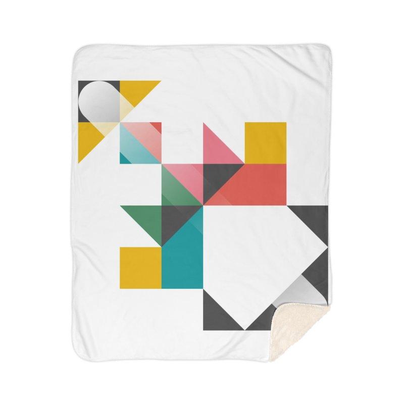 Geometric Design Series 1.5, Poster 6 Home Blanket by Madeleine Hettich Design & Illustration